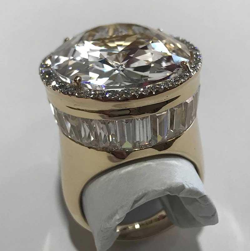 Custom ring design